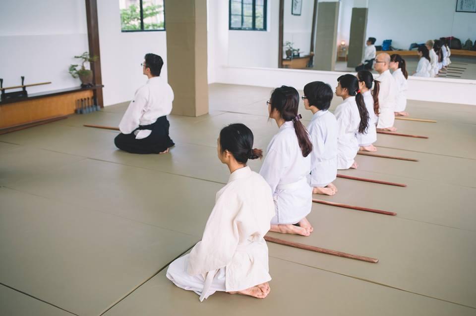 clb ki aikido hà nội - không ngắt dòng chảy của khí