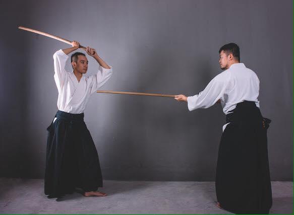 Kiếm và Gậy trong Ki Aikido