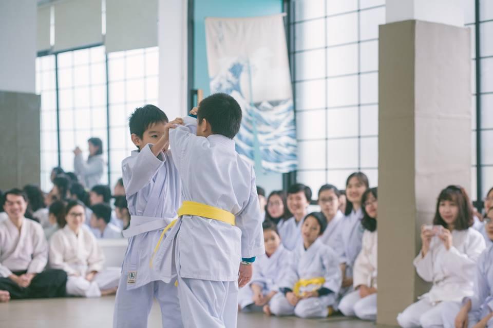 Lớp học võ trẻ em